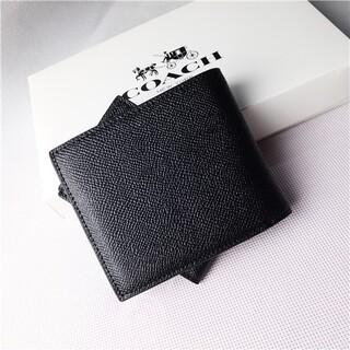 COACH - コーチ COACH パスケース付き 二つ折り財布 IDウォレット  超美品