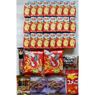 32点セット☆ドールアップル100%菓子詰合せ スナック 飲料送料無料(その他)