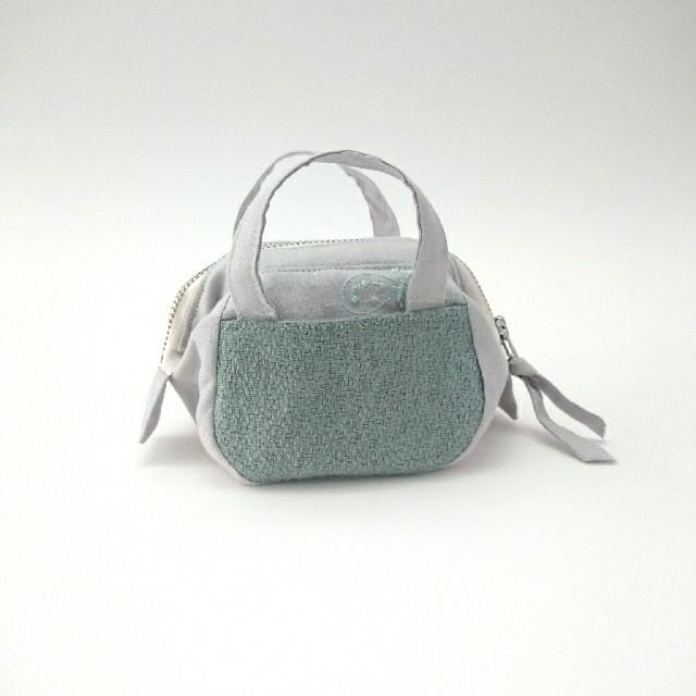mina perhonen(ミナペルホネン)のボストンバッグ ポーチ bonheur ハンドメイドのファッション小物(ポーチ)の商品写真