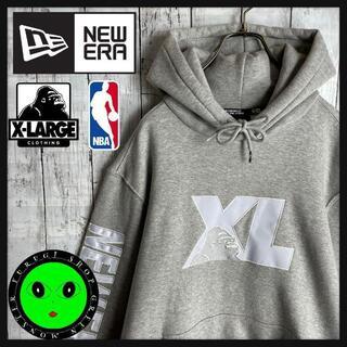 XLARGE - 【入手困難コラボ☆クリッパーズ】エクストララージ ニューエラ NBA パーカー