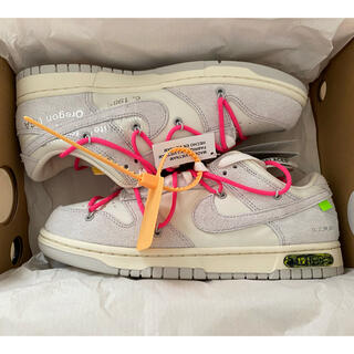NIKE - OFFWHITE NIKE DUNK LOW 1 OF 50 17 27.5cm