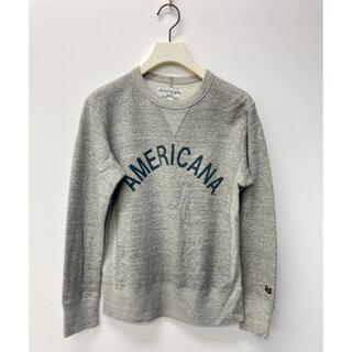 AMERICANA - Americana クルーネックロゴスウェット