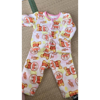 アンパンマン(アンパンマン)のもこもこパジャマ80(パジャマ)