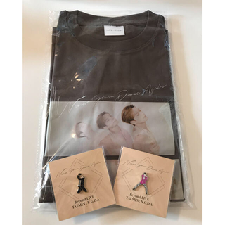 SHINee - SHINee テミン  TAEMIN Tシャツ ピンバッジ  N.G.D.A