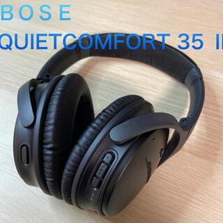ボーズ(BOSE)のBOSE QUIETCOMFORT 35 2 BLACK ボーズ QC35 Ⅱ(ヘッドフォン/イヤフォン)