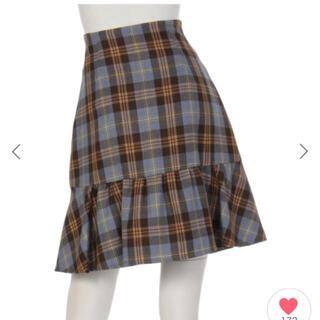リランドチュール(Rirandture)の即日発送❗️ リランドチュール チェック Aライン スカート(ひざ丈スカート)