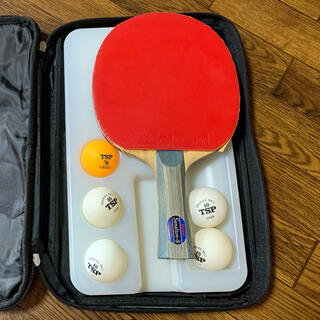 ニッタク(Nittaku)のケース&ピンポン球付き卓球ラケット Nittaku(卓球)
