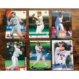 ヨミウリジャイアンツ(読売ジャイアンツ)のプロ野球カード 元木大介選手 カード6枚セット(スポーツ選手)