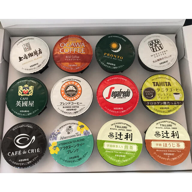 KEURIG キューリグ K-CUP  Kカップ コーヒーカプセル アソート 食品/飲料/酒の飲料(コーヒー)の商品写真