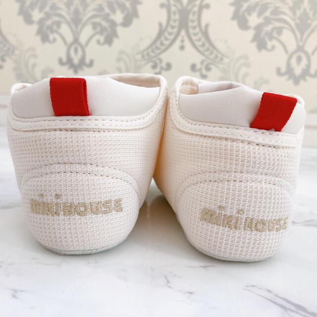 mikihouse(ミキハウス)のミキハウス mikihouse プレシューズ ホワイト 12.5cm キッズ/ベビー/マタニティのベビー靴/シューズ(~14cm)(スニーカー)の商品写真