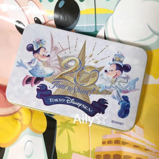 Disney - 新作♡ 20周年 キャンディー 缶 ディズニーシー タイムトゥシャイン