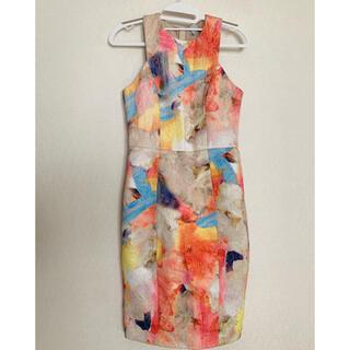 エイチアンドエム(H&M)のH&M ワンピース ドレス(ひざ丈ワンピース)