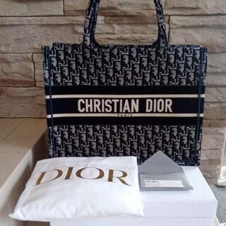 ディオール(Dior)のディオールオブリークトートバックベルベットスモールサイズ最終お値下げ!!(トートバッグ)