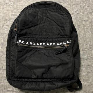 A.P.C - 難あり アーペーセー A.P.C. リュック バックパック 黒 ブラック