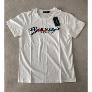 ジバンシィ(GIVENCHY)のGIVENCHYジバンシィ レインボー Tシャツ Lサイズ(Tシャツ/カットソー(半袖/袖なし))