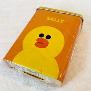 サリー(SALLY)のLINE FRIENDS サリー 缶入り絆創膏(キャラクターグッズ)