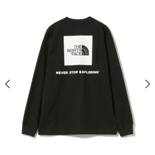 THE NORTH FACE - Lサイズ THE NORTH FACEロングスリーブ バックロゴ Tシャツ