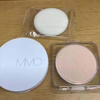 MiMC - 新商品 ほぼ新品 アーストーンコントロールクリアパウダー(リフィル&新品ケース)