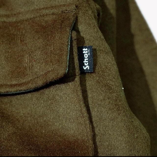schott(ショット)のschott melton field wool jacket メンズのジャケット/アウター(ブルゾン)の商品写真