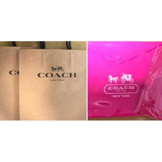コーチ(COACH)のコーチ 付録 ポーチ メモ帳 紙袋 (ノート/メモ帳/ふせん)