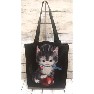 ミルク(MILK)のMILK◆ミルク CHERRY CAT BAG  トートバッグ 猫 B4 大容量(トートバッグ)