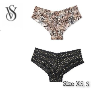 Victoria's Secret - ヴィクトリアシークレット レースチーキー 新作♡レオパード 2枚セット