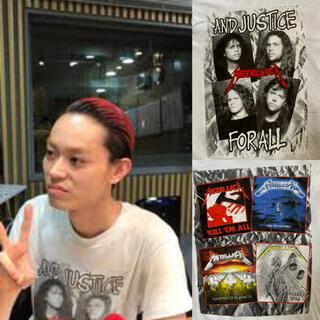 METALLICA ©︎1988 tour t-shirt 菅田将暉
