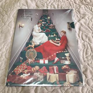 アフタヌーンティー(AfternoonTea)のAfternoon Tea クリスマス クリアファイル(ノベルティグッズ)