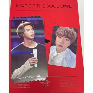 【ラスト1】BTS  MAP OF THE SOUL ON:E  トレカ Jin