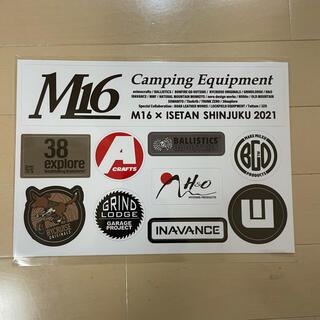 M16ステッカーセット  新品未使用品