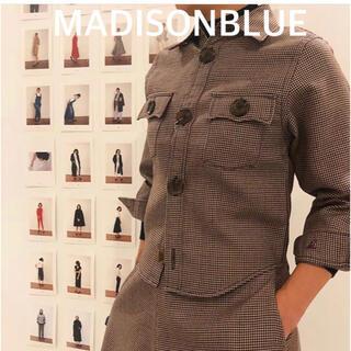 マディソンブルー(MADISONBLUE)の【MADISONBLUE】コンパクトCPOジャケット/グラフチェック/01(テーラードジャケット)