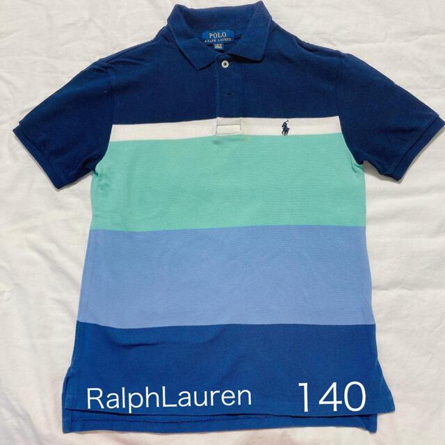 POLO RALPH LAUREN(ポロラルフローレン)のポロシャツ RalphLauren キッズ 140 キッズ/ベビー/マタニティのキッズ服男の子用(90cm~)(Tシャツ/カットソー)の商品写真