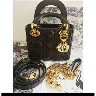 クリスチャンディオール(Christian Dior)のレディディオール チェーンミニバッグ (ハンドバッグ)