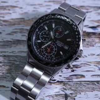 SEIKO - 【稼働品】 セイコー 腕時計 メンズ クォーツ クロノグラフ