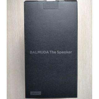 BALMUDA - バルミューダ スピーカー ワイヤレス Bluetooth M01A-BK