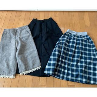サマンサモスモス(SM2)のスカート キュロット まとめ売り サマンサモスモス SM2 NICE CLAUP(ひざ丈スカート)