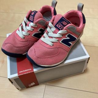 ニューバランス(New Balance)のNewBalance(ニューバランス)子供靴 スニーカー 15.5cm  ピンク(スニーカー)