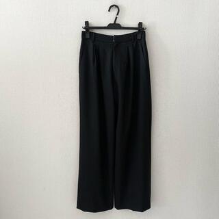 IENA♡黒のワイドパンツ(カジュアルパンツ)