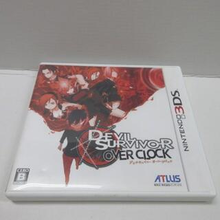 ニンテンドー3DS(ニンテンドー3DS)の rgm10914 3DS 中古 デビルサバイバー オーバークロック(家庭用ゲームソフト)