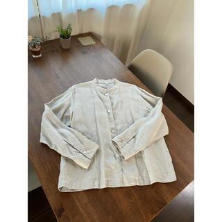 MUJI (無印良品) - 無印良品 フレンチリネン洗いざらしシャツジャケット