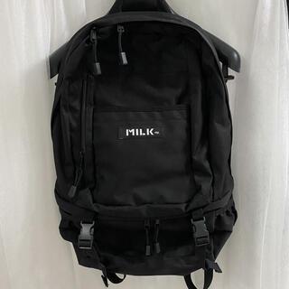 ミルクフェド(MILKFED.)のMILKFED. ミルクフェド【定番】BIG BACKPACK BAR リュック(リュック/バックパック)