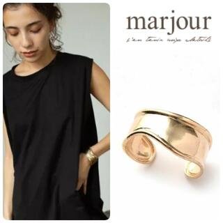 21AW 新品 marjour TRIMMING BANGLE