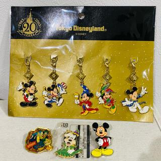 Disney - ディズニーランド20周年 チャーム ピンバッジ