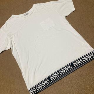 ロデオクラウンズワイドボウル(RODEO CROWNS WIDE BOWL)のRODEO CROWNS/ロゴTシャツ(Tシャツ(半袖/袖なし))