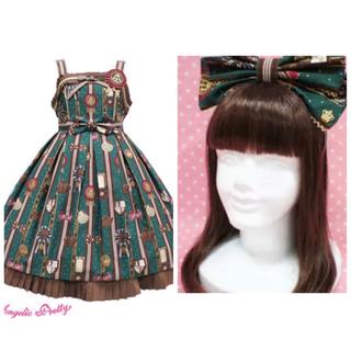 Angelic Pretty - 本日限定値下げ☆ chocolate rosette グリーン Set