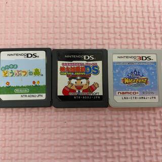 ニンテンドー3DS(ニンテンドー3DS)のDSカセットまとめ売り(家庭用ゲームソフト)