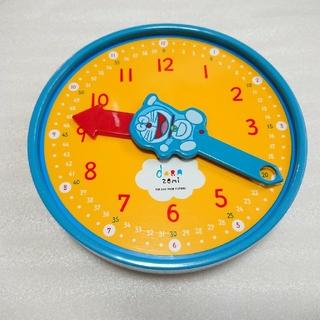 ショウガクカン(小学館)の【小学館】ドラえもん ドラゼミ おけいこどけい 時計 教材(知育玩具)