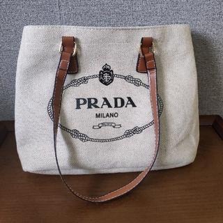 プラダ(PRADA)の超人気※プラダ ハンドバッグ ベージュ 綺麗(ハンドバッグ)