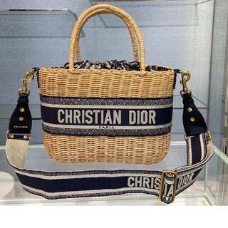 クリスチャンディオール(Christian Dior)のDiorかごバッグ(ショルダーバッグ)