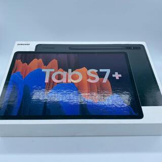 サムスン(SAMSUNG)のGalaxy Tab S7+ plus 128GB keyboard カバー付き(タブレット)